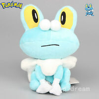 X Y Froakie Frog Soft Plush Cuddly Doll Toy Collectible Figure 7'' Teddy