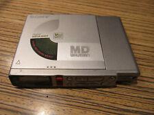 Sony Minidisc MD  RM MZ R37 > 3,5 mm Stecker (6100) Battklappe Scharnier defekt