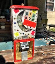 Vintage Northwestern 50 Cent Toy Vending Machine W Key Works Full Of Prizes