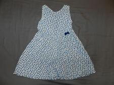 robe kiabi 4 ans bkeue motif petites fleurs