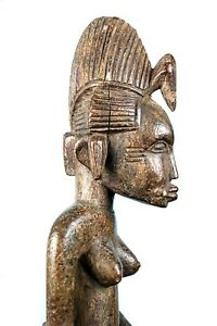 Art Africain Arts Premiers - Bâton du Poro Senoufo des Femmes - Ancien & Usuel