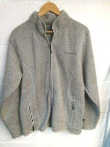 Ayacucho grey fleece jacket size 14