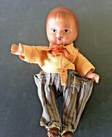 """Vintage Antique Small Doll """"Composition"""" 8"""""""