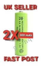 Rechargeable Solar Light 2 Batteries Set AA Ni-MH300mAh  1.2 V