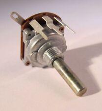 6 PEZZI-Potenziometro 10kω LOGARITMICO-ASSE 4mm metallo 0,2w - reputazione 0502-900