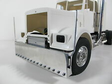 Custom Aluminum Front Bumper Cross member Mount for Tamiya 1/14 Semi King Hauler