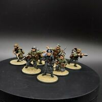 Well Painted 28mm Bolt Action German hight ranking officer and NCOs ww2