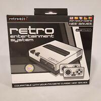 Retro-Bit ~ Retro Entertainment System for NES Games ~ Silver & Black