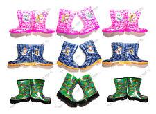 Kids Boys Girls Wellies/Wellington Rain Snow Boots,PawPatrol Birthday Gift