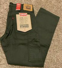 Levi's 545 Athletic Fit Workwear Utility Pant Green Men's Sizes NWT 289310006