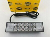 NEU Hella LED Warnleuchte rot 12V Blinker Flasher Frontblitzer Blitz-Kennleuchte