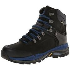 Merrell 0651 Womens Crestbound Black Leather Gore-Tex Hiking Boots 5.5 BHFO