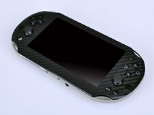 Black Carbon Fiber Vinyl Skin Sticker Protector for Sony PS vita 2000 PSvita
