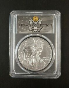 2019 Silver Eagle Legacy Collection Magnum Opus PCSG MS 70