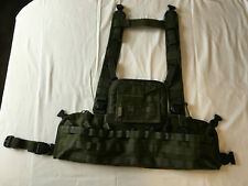 Warrior Assault Systems Chest Rig including Admin Panel - Green