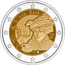 2 euro commémorative Belgique 2020 BU - Jan Van Eyck