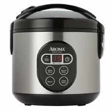 OpenBox Aroma Housewares ARC-914SBD 8-Cup Cooked Digital Cool-Touch Rice Cooker