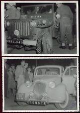 "Madagascar .lot de 3 photos anciennes.Rallye automobile."" Fianar Photo du Midi """