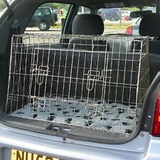 PET WORLD SUZUKI ALTO SLOPING CAR DOG BOOT CAGE PUPPY TRAVEL SAFETY CRATE PET