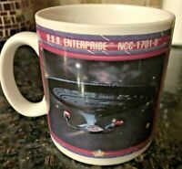 1992 Star Trek Next Generation U.S.S. Enterprise NCC-1701-D Mug Paramount
