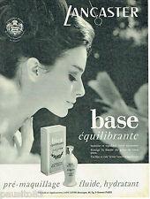 PUBLICITE ADVERTISING 115  1966   LANCASTER cosmétiques S.A.S. Princesse GRACE M
