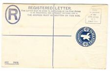 Tanganyika REGISTERED POSTAL ENVELOPE-HG:C1-unused-minor toning
