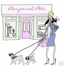 PAMPERED PETS dog cat diva shopping cards