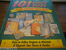 101 Quick Fixes in and Around Your Home HC Illustrated French Language Free Ship
