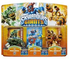 Skylanders Giants PRISM BREAK LIGHTNING ROD DRILL SERGEANT Triple Swap Force