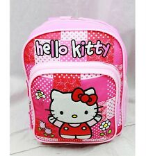 "Nwt Hello Kitty 10"" Mini Backpack Bag Red Pink Newest Style Licensed Sanrio"