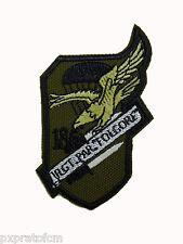 Patch Folgore 186 Rgt Paracadutisti Esercito Italia Verde per Mimetica Vegetata