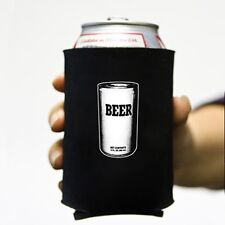 """Beer"" Can Neoprene Koozie Lot of 6 Koolie Cooler Soda Funny Party meta beverage"