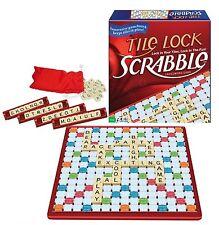 Game- Winning Moves Scrabble Game W/Tile Lock,Plastic 100 Letter Tiles,Rotating