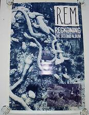 R.E.M.  -   RECKONING  -  ORIGINAL ROLLED ROCK PROMO POSTER (1984)