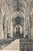 BR94462 lincoln cathedral nave east   uk