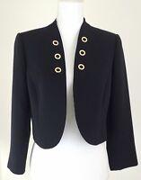 Tahari by ASL~Women's Size 6~Black Open-Front Jacket Blazer Career or Formal.