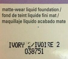 Mary Kay TimeWise Matte-Wear Liquid Foundation Ivory 2 ~ NIB ~ Free Shipping!