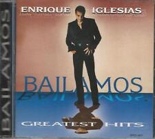 Music CD Enrique Iglesias Bailamos Greatest Hits