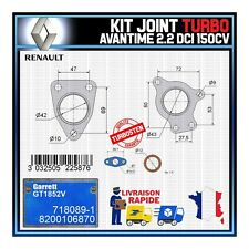Joints Turbo 2.2 dCi 150 Cv Renault Avantime 8200106870 Garrett GT1852V 718089-1