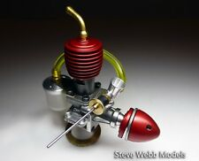 Red Fin 030 Kompish Inspired by ED Comp Special Model Diesel 1/2cc engine BSTAND
