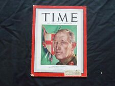 1943 MAY 3 TIME MAGAZINE - FIRST ARMY'S KENNETH A. N. ANDERSON - T 862