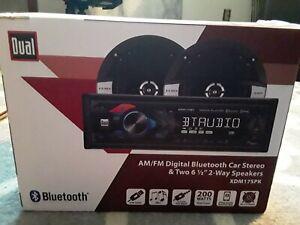 Dual Electronics XDM17SPK LCD Single DIN Car Stereo Receiver