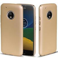 Motorola Moto G5 Hülle Tasche Case Cover Handy Backcover Handyhülle Gold