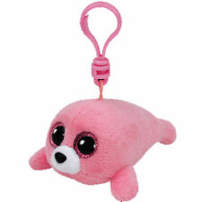 """TY Beanie Babies Boo's Pierre Seal Key Clip 3"""" Stuffed Collectible Plush Toy NEW"""