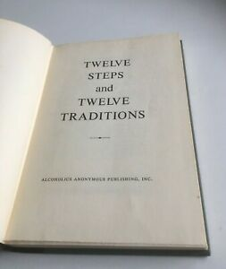 Alcoholics Anonymous Twelve Steps and Traditions First Edition--TIGHT SPINE