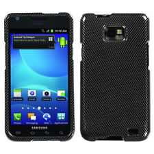 For AT&T Samsung Galaxy S II 2 HARD Protector Case Snap Phone Cover Carbon Fiber