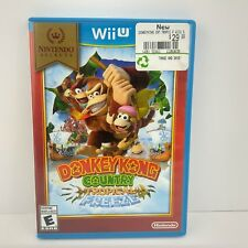 Wii U Donkey Kong Country Tropical Freeze Game Tested and Works Missing Manual