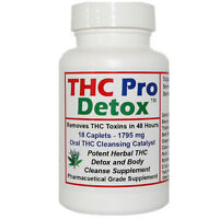 THC Pro Detox - 2 Days to Cleanse - Supports Removal of Unwanted THC Toxins