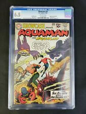 Showcase #31 CGC 6.5 FN+ Off-White Pages DC Comics 1961 Silver Age Aquaman