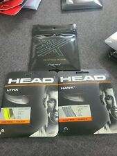 3 SETS: New- Head Hawk and Lynx 16g